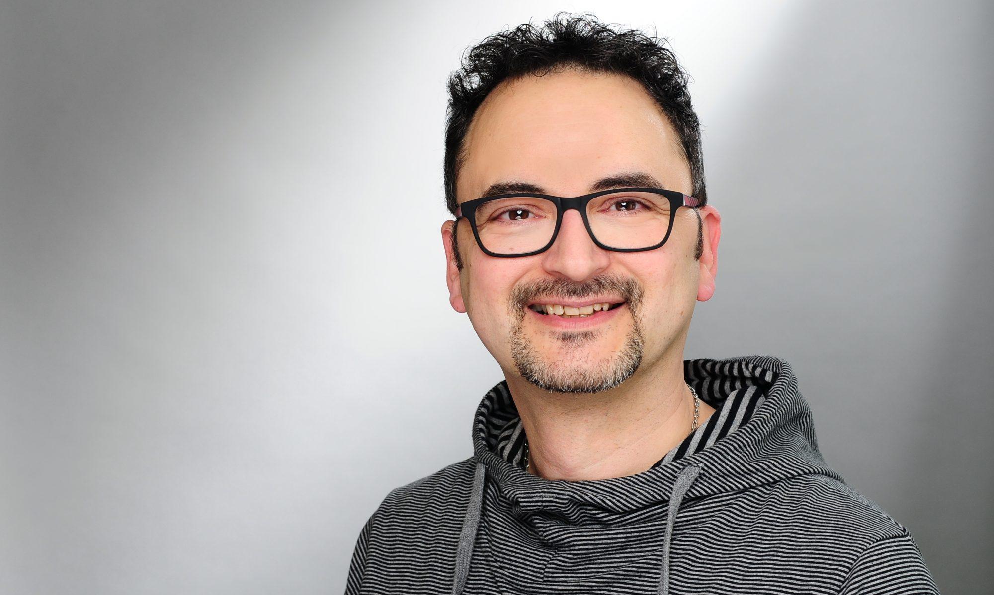 Der Friseurmeister Axel Schulz
